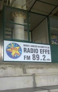postazione Radio EFFE